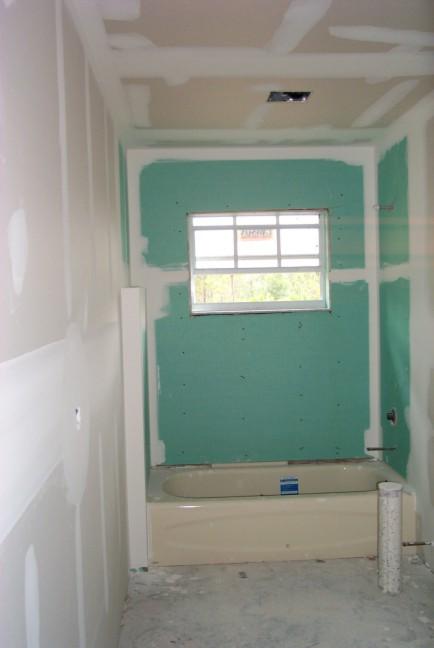 Drywall Bath2 (38843 Bytes). Bathroom # 2